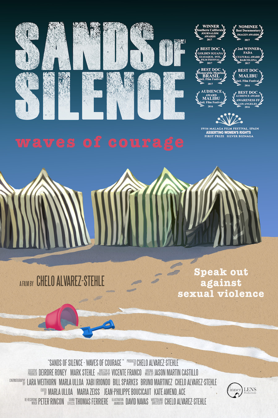 Sands of Silence: Waves of Courage - film poster