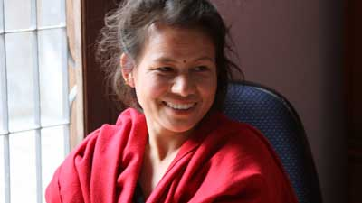 Charimaya Tamang runs programmes that fight human trafficking in Nepal. She was one of the first women in Nepal to prosecute her trafficker, a man who sold her to a brothel in India.