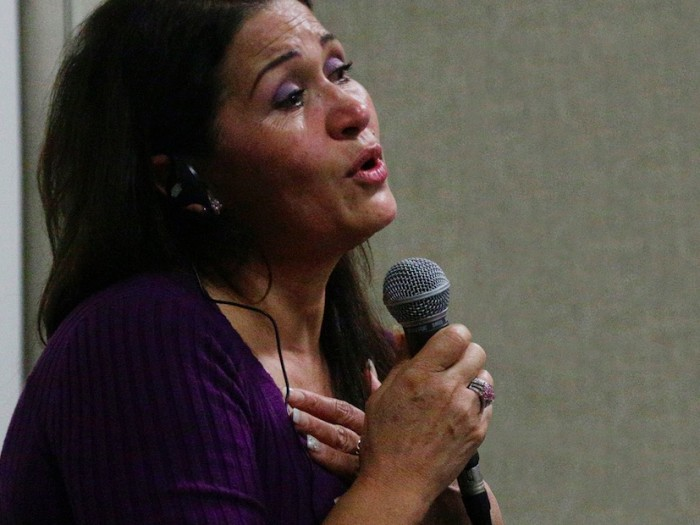 sex-trafficking survivor Virginia Isaias