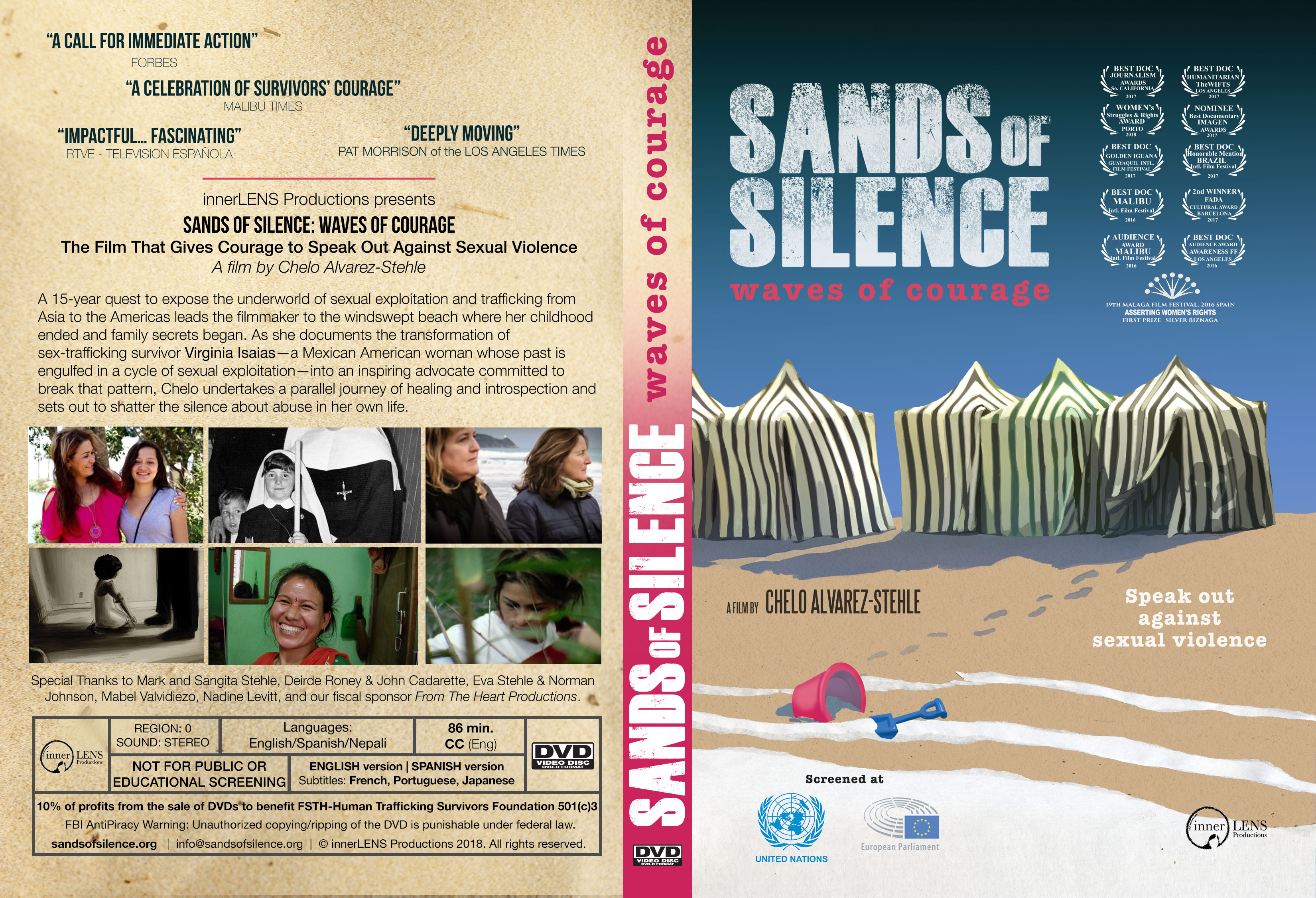 Sands Of Silence Multilingual Home Use Dvd Pre Order